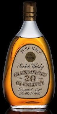Glenrothes 20 year old glenlivet