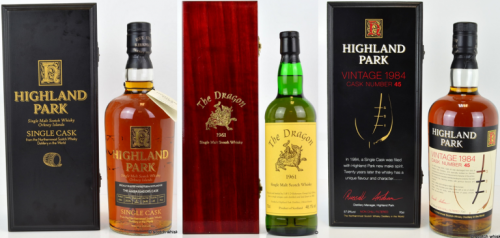 Record breaking highland park whisky