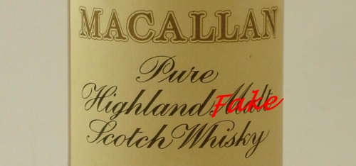 Fake Macallan