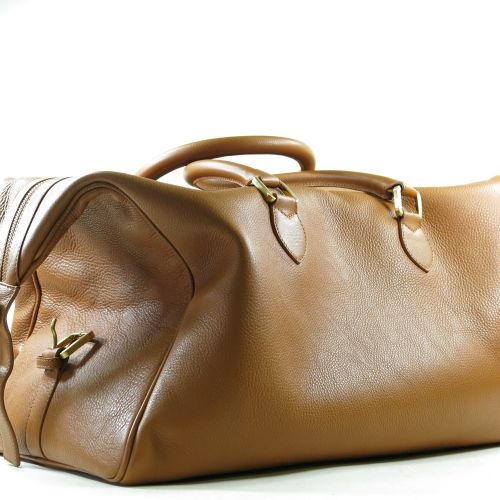 mortlach brown leather bag