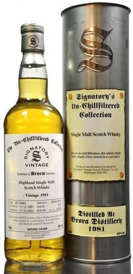 Brora Signatory Bottle