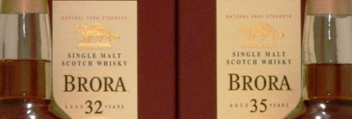 Brora 32 and 35 year old